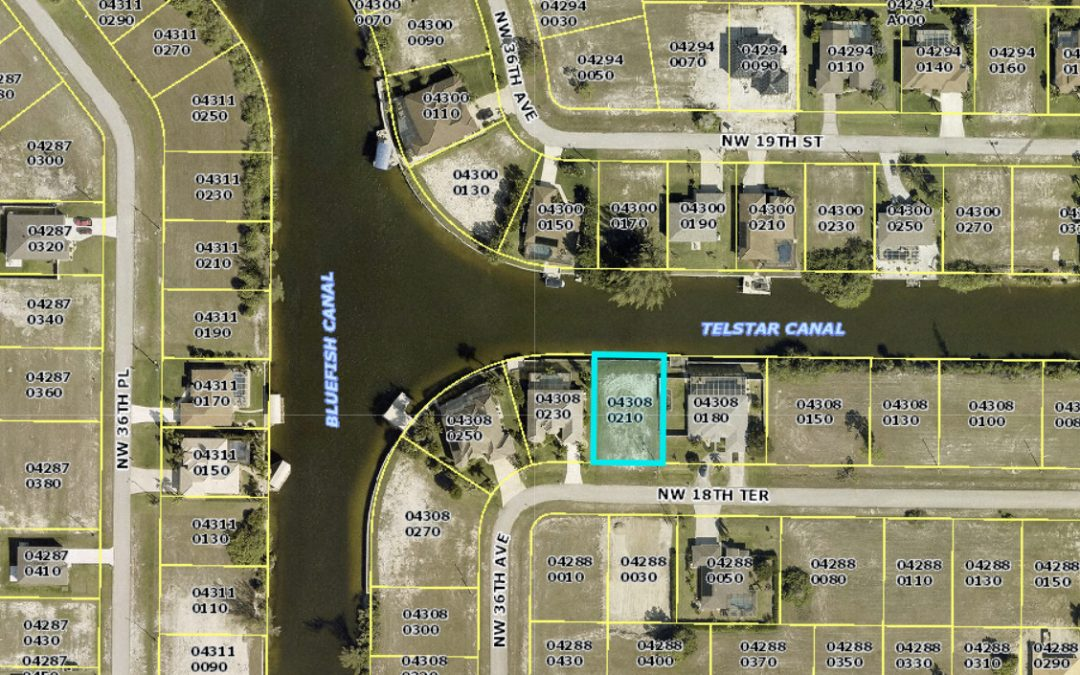$199,900 – 3441 NW 18th Terrace, Cape Coral, FL 33993