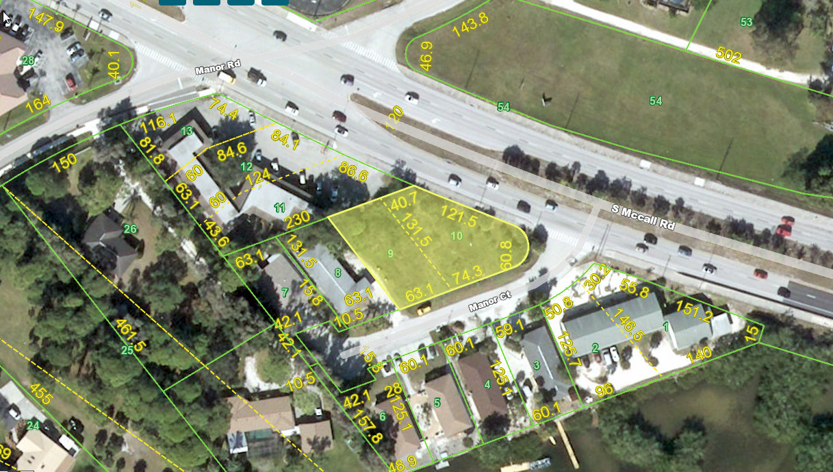 2035 S McCall Road Englewood FL 34224 Aerial