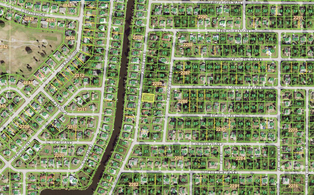 $22,900 – 2380 Achilles Street, Port Charlotte, FL 33980